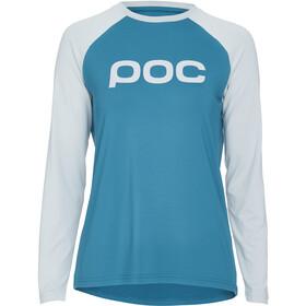 POC Essential MTB Jersey Women antimony blue/oxolane grey